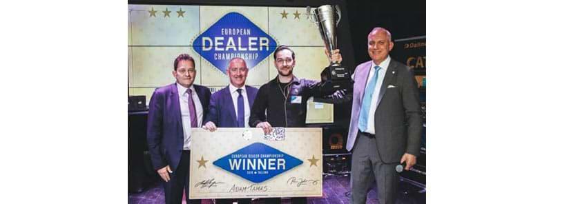 Der Gewinner der Europameisterschaft der Croupiers 2019