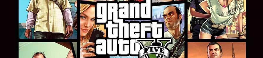 Logo des Videospiels GTA V