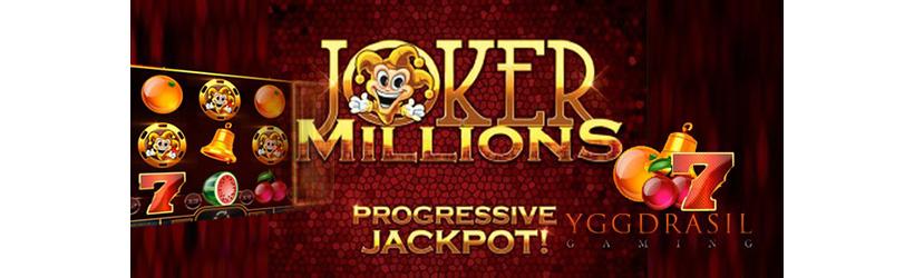 joker millions progressive jackpot