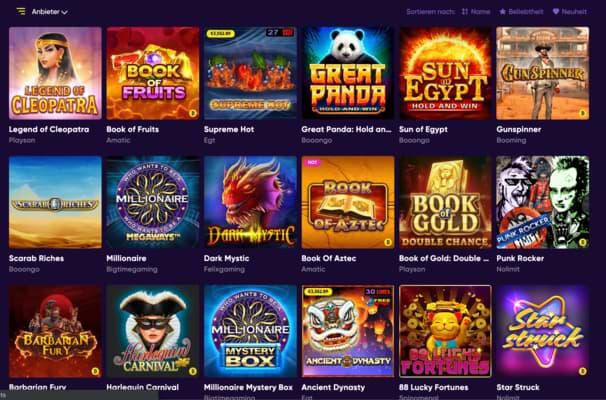 Ein neues und sicheres Online Casino