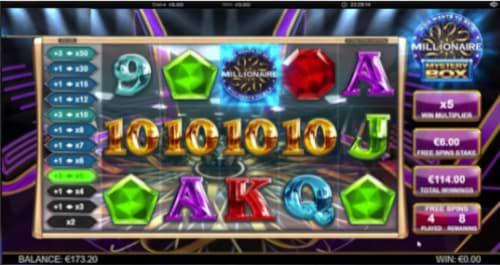 Millionaire Mystery Box Progressive Multipliers