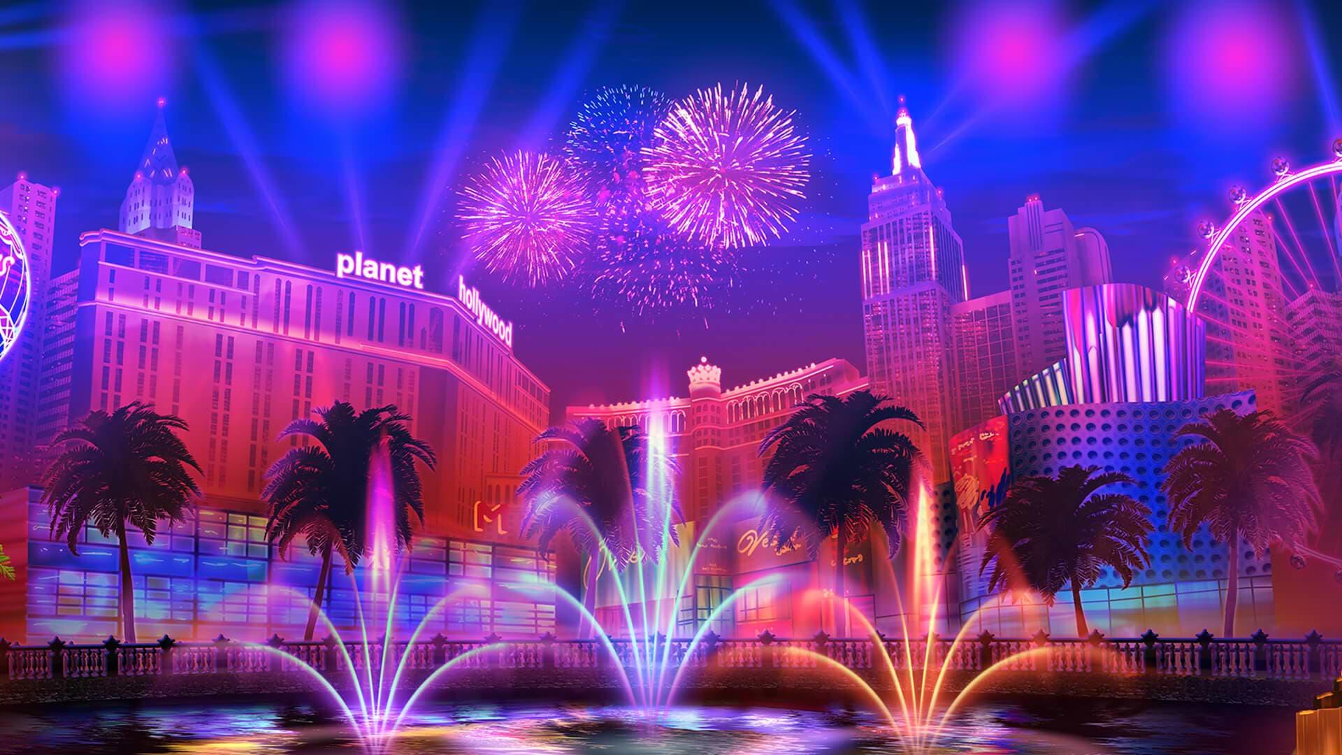 Hintergrund mit hoher Auflösung Vegas High Roller
