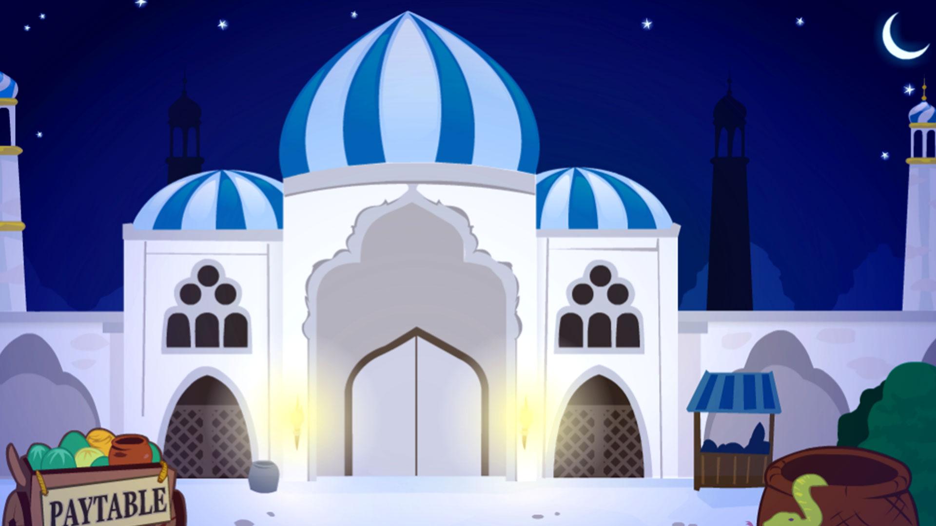 Hintergrund mit hoher Auflösung Arabian Nights