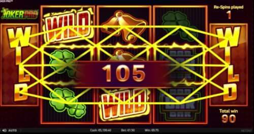 Joker Pro (NetEnt) Wild Symbols