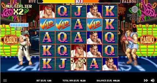 Street Fighter 2 Slot Spielregeln