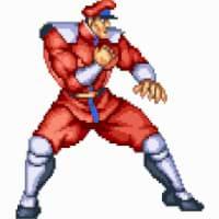 Das Originalspiel Street Fighter II: The World Warrior - Character Bison