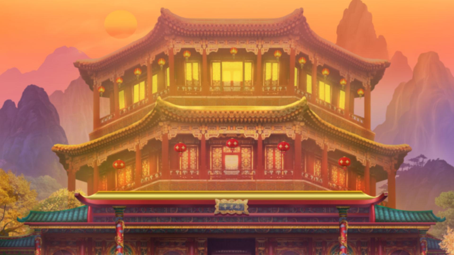 Hintergrund mit hoher Auflösung Prosperity Palace