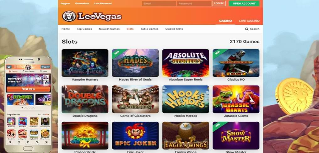 leo vegas online spielbanken spiele