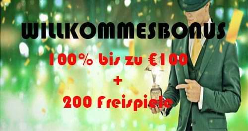 Mr Green online spielbank willkommensbonus