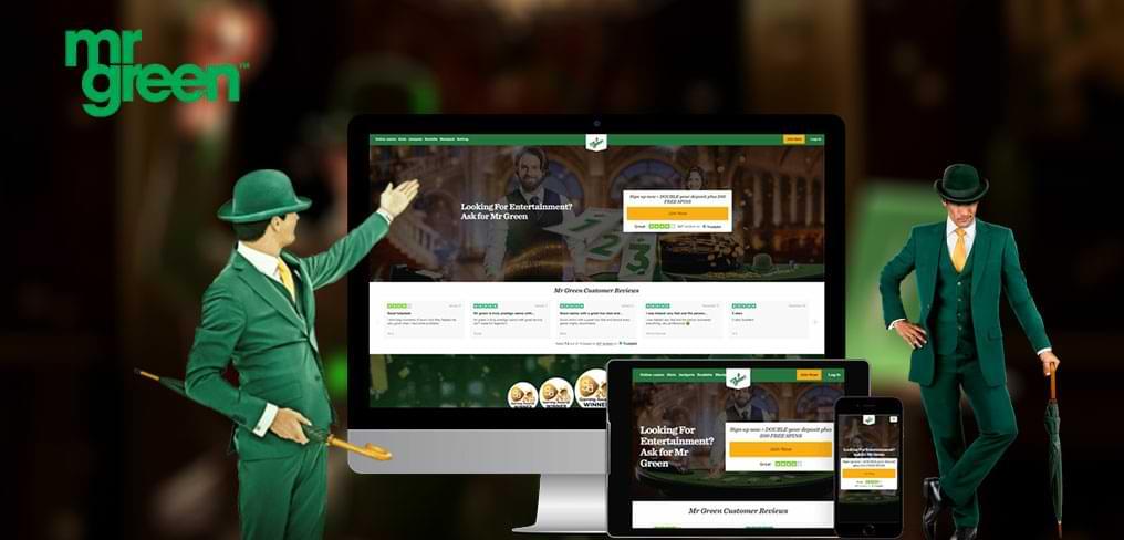 Mr Green online spielbank website
